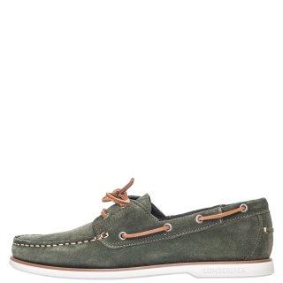 Ανδρικά Boat Shoes SM07804 005 A04 NAVIGATOR Δέρμα Καστόρι Λαδί Lumberjack