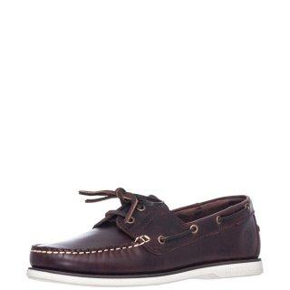 Ανδρικά Boat Shoes SM07804 005 B03 NAVIGATOR Δέρμα Καφέ Lumberjack