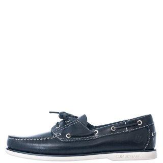 Ανδρικά Boat Shoes SM07804 005 B03 NAVIGATOR Δέρμα Μπλέ Lumberjack