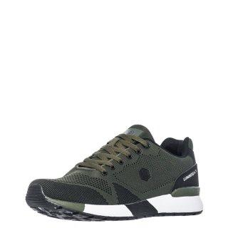 Ανδρικά Sneakers SM62105 001 U22 VENDOR Ύφασμα Χακί Lumberjack