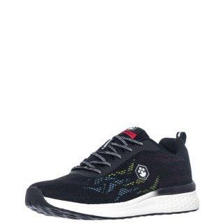 Ανδρικά Sneakers SM85611 001 Y31 GREENE Ύφασμα Μαύρο Lumberjack