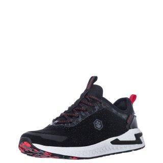 Ανδρικά Sneakers SMA3011 001 C27 LINE Αδιάβροχο Ύφασμα Μαύρο Lumberjack