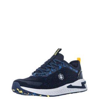 Ανδρικά Sneakers SMA3011 001 C27 LINE Αδιάβροχο Ύφασμα Μπλέ Lumberjack