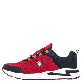 Ανδρικά Sneakers SMA3011 004 LINE Ύφασμα Κόκκινο Lumberjack