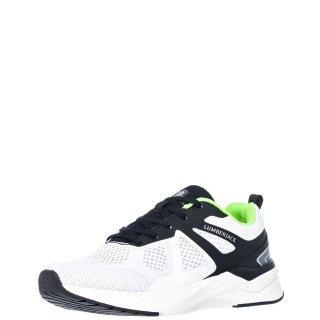 Ανδρικά Sneakers SMB0611 001 C27 KENNY Ελαστικό Ύφασμα Λευκό Lumberjack