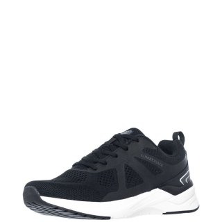Ανδρικά Sneakers SMB0611 001 C27 KENNY Ελαστικό Ύφασμα Μαύρο Lumberjack