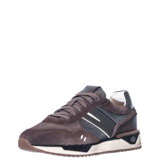 Ανδρικά Sneakers SMC1012 001 Z88 NOLAN Δέρμα Δέρμα Καστόρι Γκρι Καφέ Lumberjack