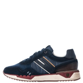 Ανδρικά Sneakers SMC1012 001 Z88 NOLAN Δέρμα Δέρμα Καστόρι Μπλέ Καφέ Lumberjack