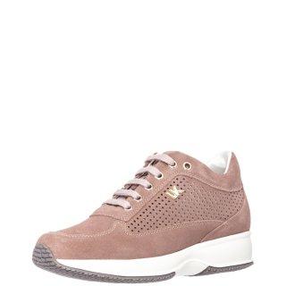 Γυναικεία Sneakers SW01305 008 RAUL Δέρμα Καστόρι Nude Lumberjack