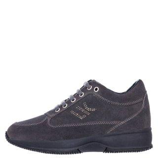 Γυναικεία Sneakers SW01305 010 A01 RAUL Δέρμα Καστόρι Γκρι Lumberjack