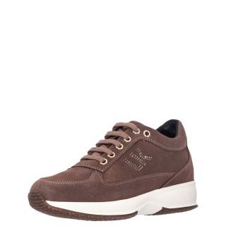 Γυναικεία Sneakers SW01305 010 A01 RAUL Δέρμα Καστόρι Καφέ Lumberjack
