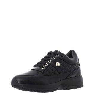 Γυναικεία Sneakers SW01305 010 Z85 RAUL Δέρμα Μαύρο Lumberjack