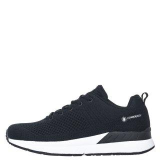 Γυναικεία Sneakers SW63411 002 C27 FABRIC Ύφασμα Μαύρο Lumberjack