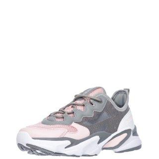 Γυναικεία Sneakers SW97111 002 GLASSY Ύφασμα Eco Leather Γκρι Ροζ Lumberjack