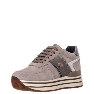 Γυναικεία Sneakers SWA0312 001 Y84 HILDA Δέρμα Καστόρι Αδιάβροχο Ύφασμα Πούρο Lumberjack
