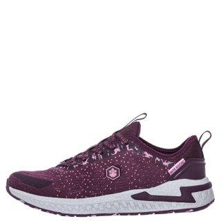 Γυναικεία Sneakers SWA3011 001 C27 LINE Αδιάβροχο Ύφασμα Μπορντώ Lumberjack