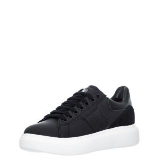 Γυναικεία Sneakers SWB6112 001 E08 JULIETTE Δέρμα Μαύρο Lumberjack