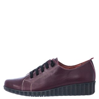 Γυναικεία Casual Παπούτσια 748 20508 Δέρμα Μπορντώ Marila