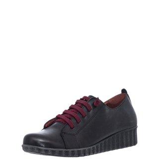 Γυναικεία Casual Παπούτσια 748 20508 Δέρμα Μαύρο Marila
