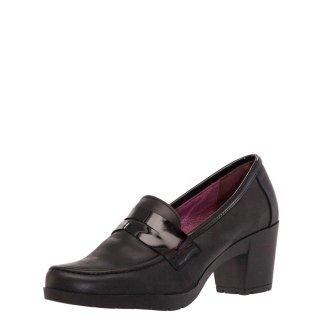 Γυναικεία Casual Παπούτσια 59098 Δέρμα Μαύρο Mirella Rossi