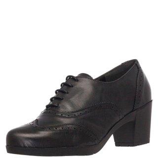 Γυναικεία Casual Παπούτσια 776 19 Δέρμα Μαύρο Mirella Rossi