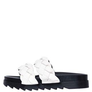 Γυναικείες Παντόφλες V22 13129 Eco Leather Λευκό Miss NV