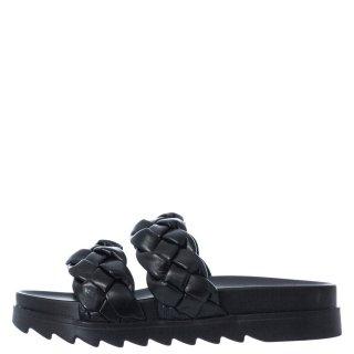 Γυναικείες Παντόφλες V22 13129 Eco Leather Μαύρο Miss NV