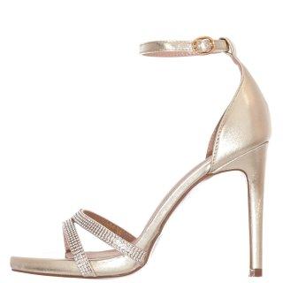 Γυναικεία Πέδιλα V45 11907 Eco Leather Χρυσό Miss NV