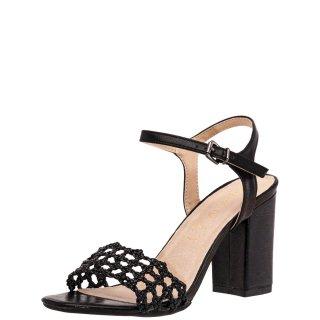 Γυναικεία Πέδιλα V64 09479 Eco Leather Μαύρο Miss NV
