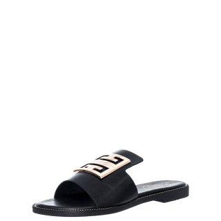 Γυναικείες Παντόφλες V96 13213 Eco Leather Μαύρο Miss NV
