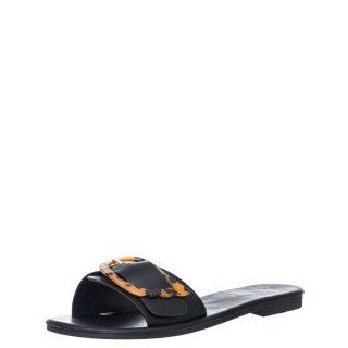Γυναικείες Παντόφλες V96 13234 Eco Leather Μαύρο Miss NV
