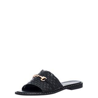 Γυναικείες Παντόφλες V96 13260 Eco Leather Μαύρο Miss NV