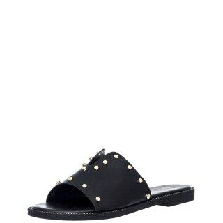 Γυναικείες Παντόφλες V96 13262 Eco Leather Μαύρο Miss NV