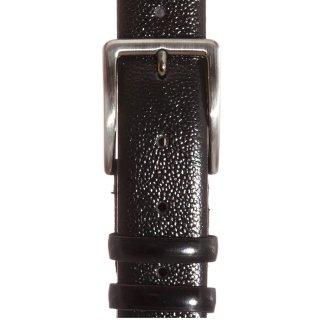 Ανδρικές  Ζώνες B396 Δέρμα Μαύρο NinoVenturi