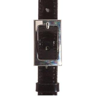 Ανδρικές  Ζώνες F1778 Δέρμα Λουστρίνι Μαύρο NinoVenturi