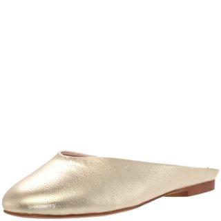 Γυναικεία Mules 317AL2768 Δέρμα Χρυσό People