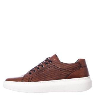 Ανδρικά Casual Παπούτσια 1182/159 Δέρμα Ταμπά Prima L'uomo