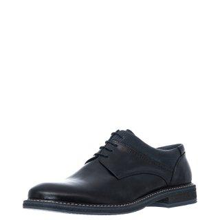 Ανδρικά Casual Παπούτσια 220/132 Δέρμα Μαύρο Prima L'uomo
