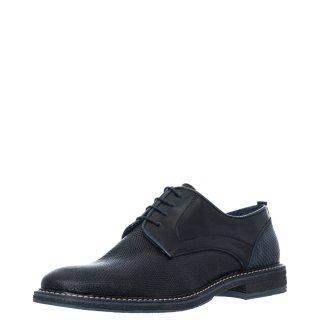 Ανδρικά Casual Παπούτσια 221/132 Δέρμα Μαύρο Prima L'uomo