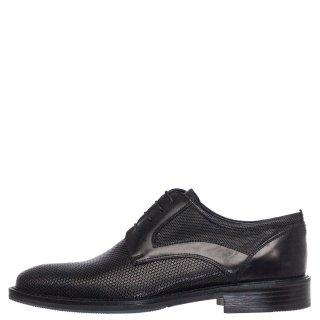 Ανδρικά Casual Παπούτσια 341/132 Δέρμα Μαύρο Prima L'uomo