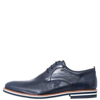 Ανδρικά Casual Παπούτσια 581/143 Δέρμα Μπλέ Prima L'uomo