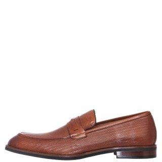 Ανδρικά Μοκασίνια & Loafers W1788 G2T Δέρμα Ταμπά Prive