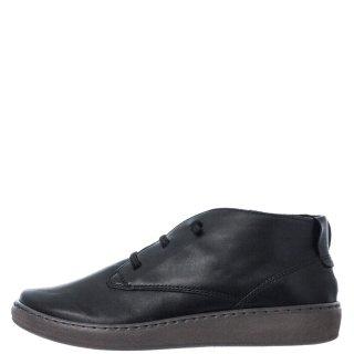 Γυναικεία Μποτάκια 580 20516 Δέρμα Μαύρο RelaxShoe