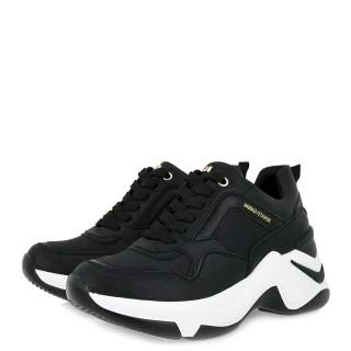 Γυναικεία Sneakers 106 21ΕΧ117 Eco Leather Μαύρο Renato Garini