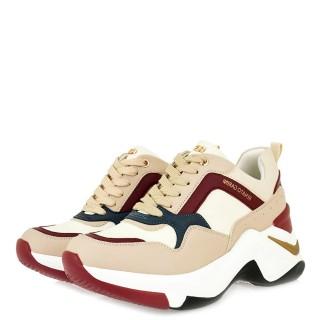 Γυναικεία Sneakers 106 21ΕΧ117 Eco Leather Nude Renato Garini