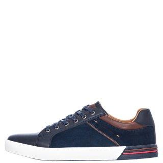 Ανδρικά Sneakers 1126 26 Eco Leather Eco Suede Μπλέ Renato Garini