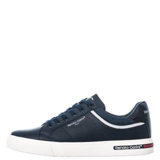 Ανδρικά Sneakers 1126 7A Eco Leather Μπλέ Renato Garini