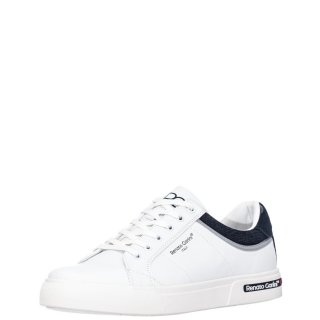 Ανδρικά Sneakers 1126 7A Eco Leather Λευκό Renato Garini
