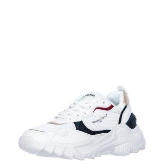 Γυναικεία Sneakers 11358 Ύφασμα Eco Leather Λευκό Renato Garini
