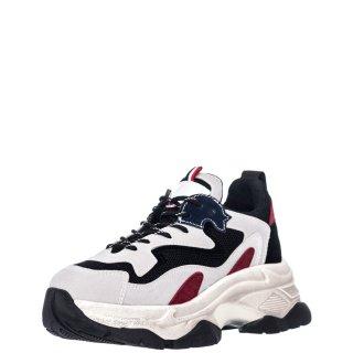 Γυναικεία Sneakers D190714 5 Eco Suede Γκρι Πολύχρωμο Renato Garini